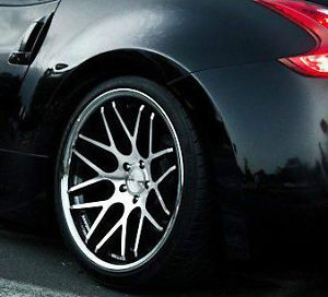 20 Vertini Magic Wheels For Nissan 370z 350z G37 G35 Coupe Concave