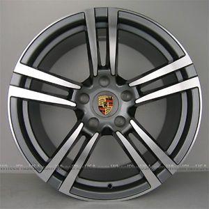 "22"" Porsche Panamera Style Wheels Rims for Cayenne VW Touareg Audi Q7 22x10 4NEW"