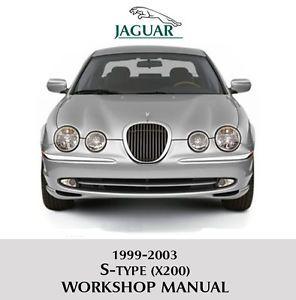 1999 2003 Jaguar s Type X200 Workshop Service Repair Manual V6 V8 s Type 'R'