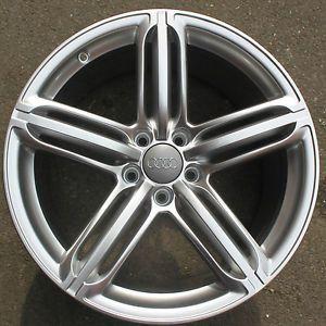 """One Audi TT 19"""" 5 Segment Spoke Alloy Wheel Refurbished 9J Front or Rear TTS"""
