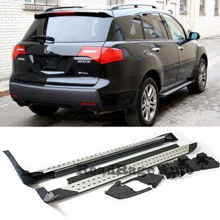 07 09 Acura MDX Factory Style Sport Aluminum Running Board Side Step Bars Nerfs