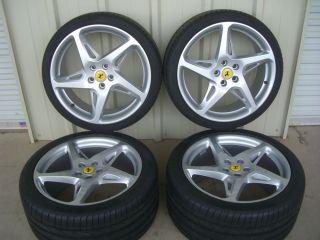 """20"""" Ferrari 458 Italia Genuine Factory Wheels Tires Rims 20 Inch"""