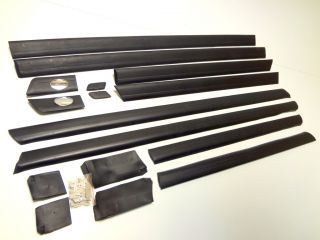 Audi 100 C4 1991 97 Doors Trims Moldings Mouldings and Protective Rubber Set