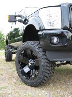 "22"" Black XD Rockstar Wheels Rim GMC Sierra Chevy Silverado Tahoe 1500 Ford F150"