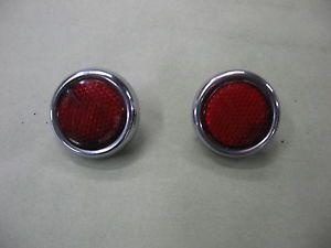 1954 Buick Tail Light Reflectors 1955 1953 Rat Rod Project Car Parts 50 51 52 57