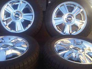 "20"" Chevy Tahoe LTZ Silverado Wheels Rims Yukon GMC Factory with Tires CA"