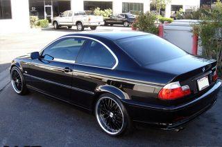 "22"" MRR GT1 Black Staggered Wheels Rims Fits BMW E65 E66 745 750 760 7 Series"