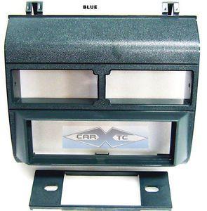 Chevy GMC Blue Dash Kit Single DIN Install Radio Stereo Full Size Panel Blue