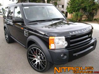 "22"" Wheels for Land Range Rover LR3 LR4 HSE HST Silver Supercharged Sport Tires"