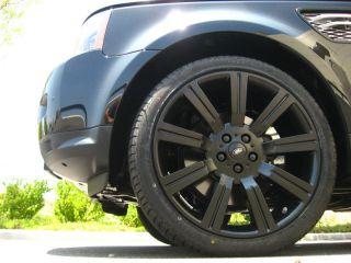 "22"" inch Flat Matte Black Range Rover Sport Stormer II Wheels Rims LR3 LR4 New"