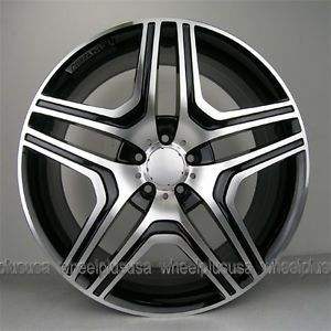 "22"" Mercedes Benz Style Wheels R350 ML350 500 GL450 550 Set of 4 Rims 22x10"