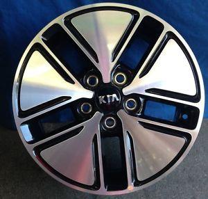 """16"""" Kia Optima 2013 OE Machine Black Wheels 4"""
