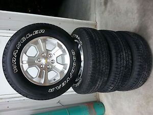 "New 2014 Chevy Silverado Z71 LTZ Tahoe Suburban Avalanche 18"" Wheels Rims Tires"