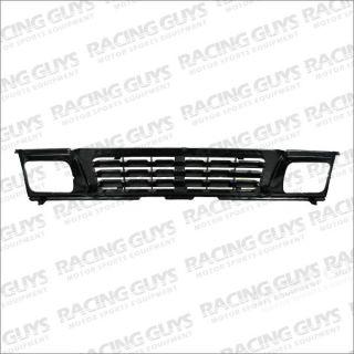 Mitsubishi Pickup 93 95 Black Primed Grille Grill Front Body Parts MI1200118