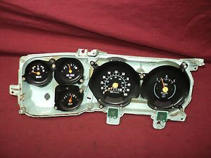 Dash Gauge Cluster w 100 MPH Speedo Parts or Repair 1979 1980 Chevy GMC Truck