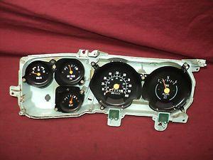 Dash Gauge Cluster w 100 MPH Speedo Parts or Repair 1979 1980 Chevy GMC Truck