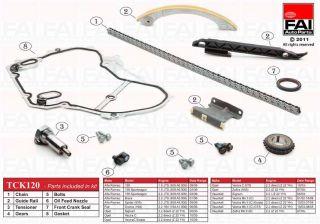 Timing Chain Kit for Alfa Romeo 159 1 9 JTS 09 05 ATCK120 822