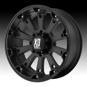 18 inch Black Wheels Rims Chevy GMC Sierra 6 Lug 1500 Truck Avalanche Yukon XD