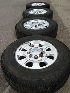 GMC 2500 3500 Sierra Duramax Factory 18 Wheels Rims Tires Goodyear 8x180