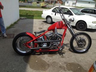2002 Custom Built OL Skool Chopper Springer Front End 1350cc