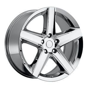 """20"""" 20x9 Chrome Jeep SRT8 Tires and Wheels Package Cherokee Commander Rims Set"""