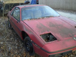 1984 Pontiac Fiero Parts Car or Kit Car Starter Clear Title Engine Cond Unknown