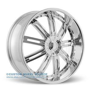 """20"""" Velocity VW800 Chrome Rims for Chrysler Dodge Ford Honda Kia Wheels"""