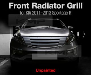 Front Hood Radiator Grill Unpainted for Kia 2011 2013 Sportage R