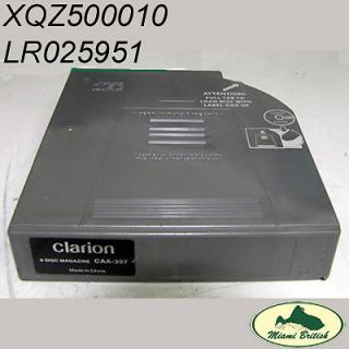 Land Rover CD Changer Magazine Range 05 09 Clarion LR025951