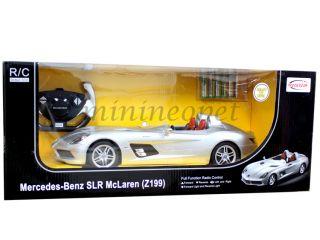 Rastar R C Radio Remote Control Car Mercedes Benz SLR McLaren Z199 1 12 Silver