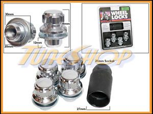 4 Lock Gorilla Mitsubishi Stock Factory Wheels Rims Mag Lug Nuts 12x1 5 1 5