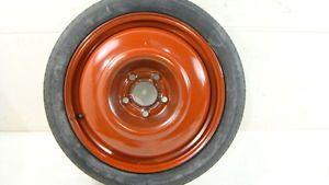 "99 00 01 Saab 9 5 Spare Wheel Tire Donut 16"" 16x4 Rim Steel"