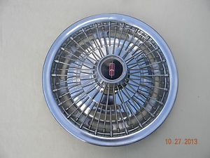 "1967 Oldsmobile Cutlass s 14"" Factory Wire Wheel Covers"