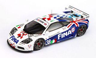 TSM Models 1 43 1996 McLaren F1 GTR LeMans Laffite Soper Duez