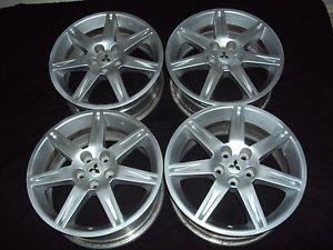 "Set 4 18 "" Mitsubishi Eclipse galant Wheels Rims 65810 One w Slight Dent"