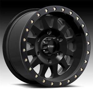 17 inch 17x8 5 Method Race Double Standard Black Wheels Rims 6x5 5 Tundra Tacoma