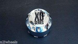 KMC XD Series XD786 XD795 Chrome Wheel Center Cap 464K106 5x5 5 6x5 5 XD Wheels