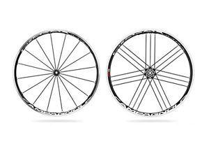 2012 Wheelset Campagnolo Shamal Ultra 2 Way Fit Wheel Set New Dark Label