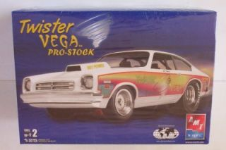Vega Pro Stock Twister AMT SEALED 1 25 Chevy Model Car Drag Kit