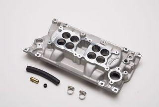 Edelbrock C 26 Dual Quad Intake Manifold Chevy SBC 283 327 350 Fits Vortec Heads