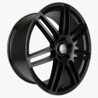 "20"" Audi Wheels A6 RS4 A2 A3 RS6 A5 A8 A4 20x9 Black Matte Rims"
