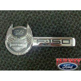 08 2008 F 150 F150 Genuine Ford Parts Harley Davidson Tailgate Emblem New