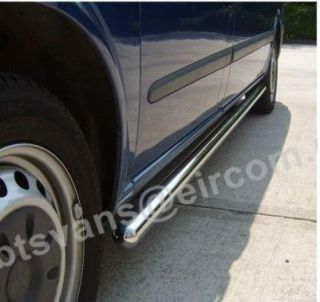 2000 SWB Ford Transit Side Bars Steps Tubes Running Boards s s Van Accessories