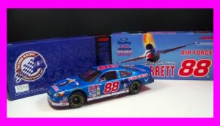 Action 1 18 Diecast Car Armed Forces Air Force Quality Care 88 Dale Jarrett