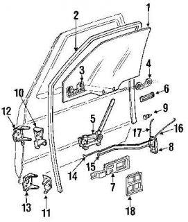 Door Latch Lock Chevy C1500 S10 K1500 GMC S15 Left Driver Side