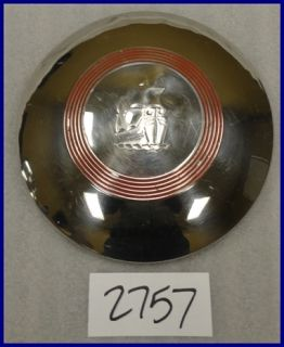 """51 52 53 Plymouth 9"""" Dog Dish Poverty Hubcaps Hub Caps Good Used Set of 4"""