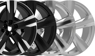 "20"" Chevroler Camaro ZL1 Style New Alloy Wheels Rims Chrome Staggered"