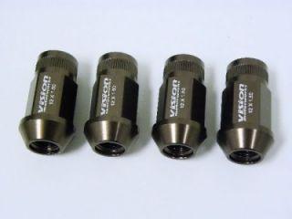 20pc Race Light Wheel Racing Lug Nuts 12x1 5 Bronze