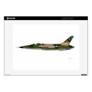 "Republic F 105 Thunderchief Skins For 15"" Laptops"