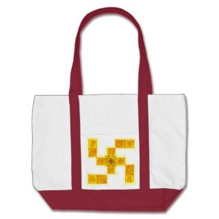 Indian Traditional Swastika Canvas Bags